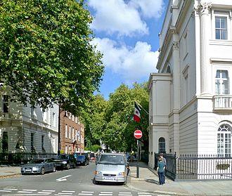 Halkin Street - Halkin Street, from Belgrave Square