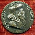 Anonimo, medaglia di pietro bembo, post 1538, una sola faccia.JPG