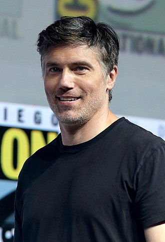 Anson Mount - Mount at the 2018 San Diego Comic-Con