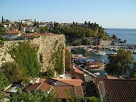 Le port d'Antalya.