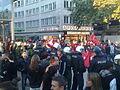 Anti-PKK protest in Frankfurt, Germany on Zeil 11.jpg
