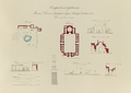 Antiquities of Samarkand. Mosque of Khodzha Akhrar and Madrasah of Nadir Divan-Begi. Plans, Elevations, and Sections WDL3581.png