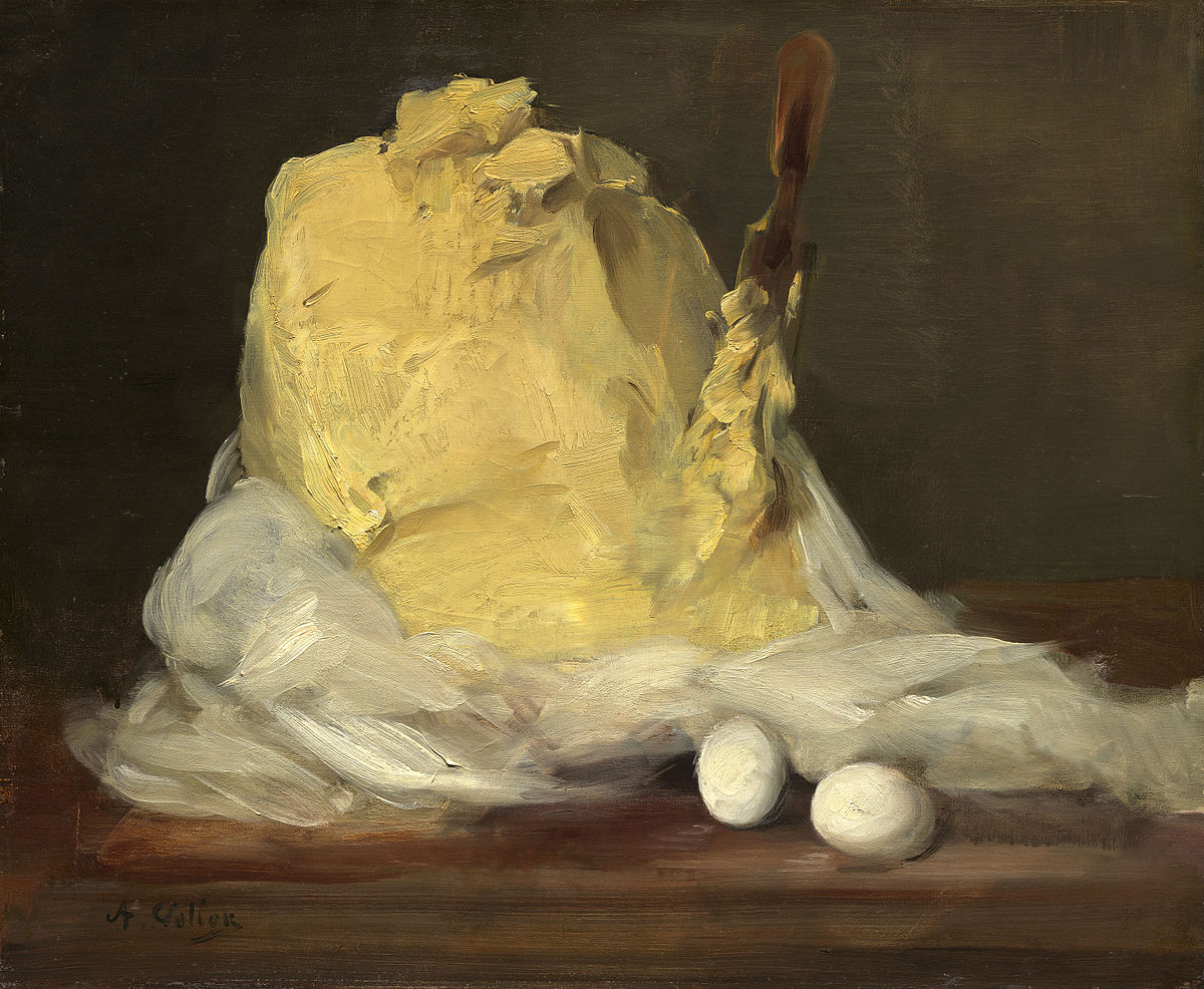 Antoine Vollon - Mound of Butter - National Gallery of Art
