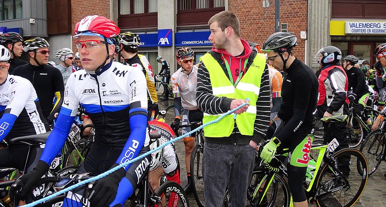Triptyque des Monts et Châteaux 2015 Depicted person:  Endrik Puntso Depicted team: Équipe nationale d'Estonie espoirs, T.Palm-Pôle Continental Wallon