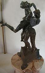 Herkules und Anteus
