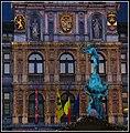 Antwerp 16th Century City Hall in Christmas Decorations - panoramio.jpg