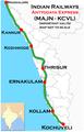 Antyodaya Express (Kochuveli - Mangalore) route map.png