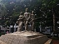 Aparajeyo Bangla statue 2.jpg