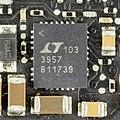 Apple MacBook Pro, model A1278 - motherboard - Linear Technology 3957-9654.jpg