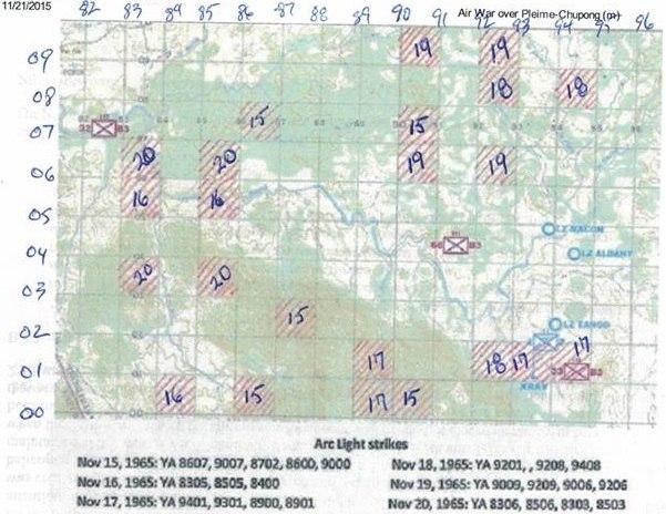 Arc Light operation at Chu Pong November 1965