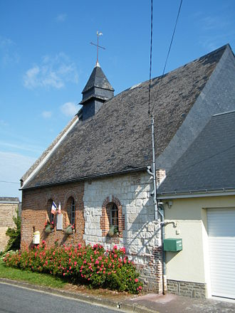 Arguel, Somme - The church in Arguel