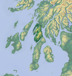 Knapdale is immediately north of Kintyre, joining it to the rest of Argyll