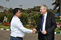 Arijit Dutta Choudhury and Hans-Martin Hinz - Science City - Kolkata 2014-02-13 2205.JPG