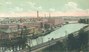 Arlington Mills Historic District - Arlington Mills in 1907