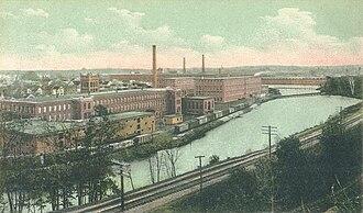 Arlington Mills Historic District - Arlington Mills in 1907