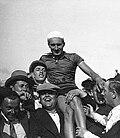 Armand Blanchonnet. Championnat de France de cyclisme 1931.jpg