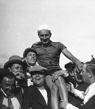 Armand Blanchonnet - Image: Armand Blanchonnet. Championnat de France de cyclisme 1931