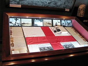 The Forty Days of Musa Dagh - An exhibit dedicated to the siege and the novel at the Armenian Genocide Museum in Yerevan, Armenia.