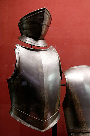 Jean Parisot de Valette - De Valette's armour at the Palace Armoury.