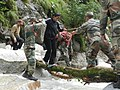 Army personnel busy in rescue operations in Pindari glacier, in Uttarakhand (2).jpg