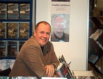 Arnaldur Indriðason - Arnaldur Indriðason at the Helsinki Book Fair, Finland, 2004