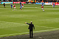Arsene Wenger directs the troops (7100604771).jpg