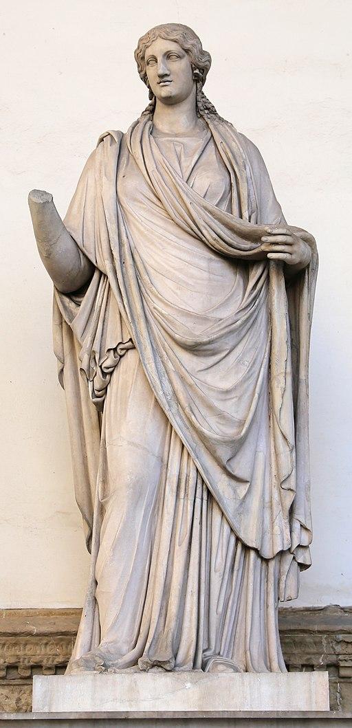 Arte romana, donna togata detta una 'sabina', 110 dc ca., con restauri moderni 02