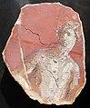 Arte romana, frammenti di affreschi con fauno, dal palatino (roma), IV stile pompeiano, 50 ca..JPG