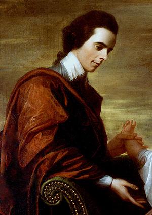 Arthur Middleton - Arthur Middleton from a 1771 portrait of the Middleton Family by Benjamin West