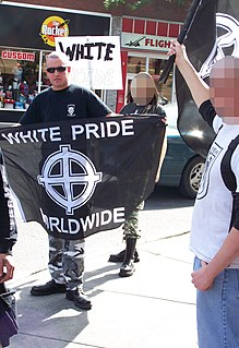 White pride is a movement encouraging people to take pride in being white.
