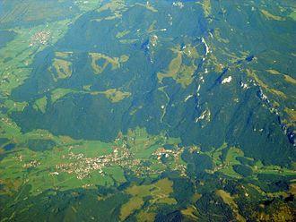 Aschau im Chiemgau - Image: Aschau Hohenaschau