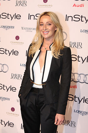 2013 in Australian television - Asher Keddie, winner of the Gold Logie Award at the 2013 Logie Awards.
