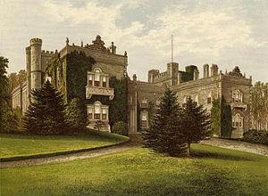 Aske Hall - Aske Hall circa 1880.