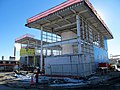 Assembly Square station north headhouse construction January 2014.JPG
