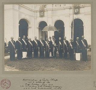 Ceylonese Mudaliyars