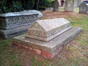 Frances Ridley Havergal - Astley, Worcestershire, St Peter's Church: grave of Frances Ridley Havergal (1836–1879), and of her father William Henry Havergal (1793–1870)