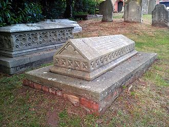 Frances Ridley Havergal - Astley, Worcestershire, St Peter's Church: grave of Frances Ridley Havergal and of her father William Henry Havergal