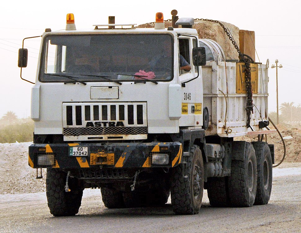 Astra 6000-series carrying generator, Baghdad, 2008