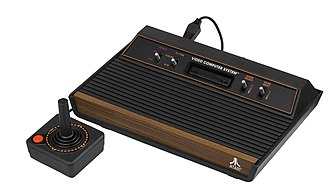 Video game crash of 1983 - Atari VCS, the most popular console prior to the crash.