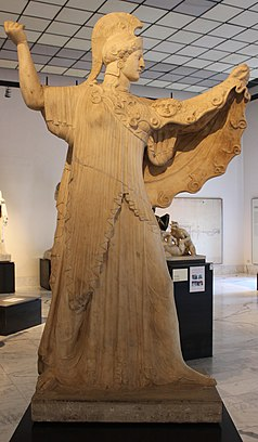 Άγαλμα της Προμάχου Αθηνάς - Βικιπαίδεια