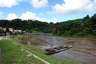 Mogami River - Image: Aterazawa Mogami River 2006