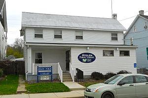 Atglen, Pennsylvania - Image: Atglen Library Chesco PA