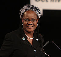 Athalia Molokomme, Attorney General for Botswana speaking at The London Conference on Cyberspace, 2 November 2011 (cropped).jpg