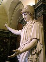 Θεά Αθηνα. Ρωμαϊκό έργο του 1ου αιώνα μ.Χ.. Μουσείο του Λούβρου