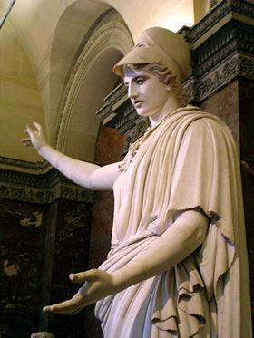 The Athena Of Velletri Louvre