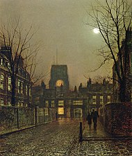 Atkinson Grimshaw 1836-1893 - British Victorian-era painter - Tutt'Art@ (8).jpg