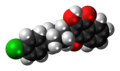 Atovaquone molecule spacefill.png