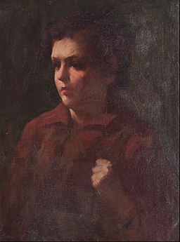 Attributed to Frank Duveneck - Study of a School Boy - Google Art Project