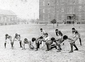 English: 1893 Auburn University football team