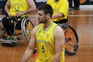 Australian Paralympic wheelchair basketball player